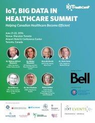 IoT BIG DATA IN HEALTHCARE SUMMIT