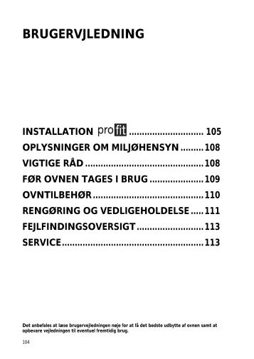 KitchenAid 901 087 32 - Oven - 901 087 32 - Oven DA (857918216000) Istruzioni per l'Uso