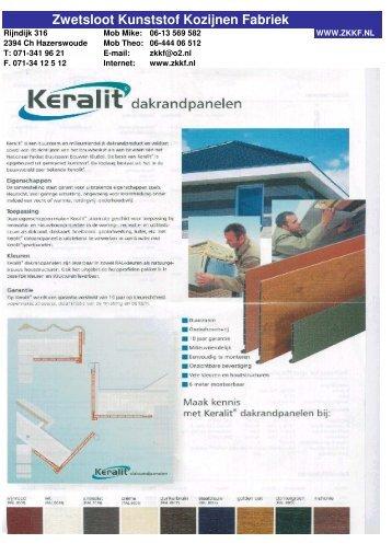 Leeg 4 pages - Zwetsloot Kunststof Kozijnen Fabriek