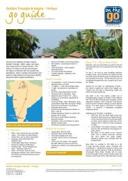 Golden Triangle & Kerala - On The Go Tours