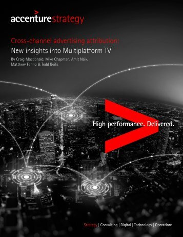 Cross-channel advertising attribution New insights into Multiplatform TV