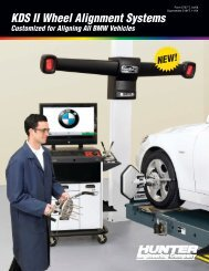 KDS II Wheel Alignment Systems