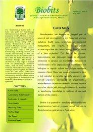 Biobits - Bioinformatics Centre, Kerala Agricultural University