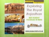 Exploring The Royal Rajasthan - HolidayKeys.co.uk