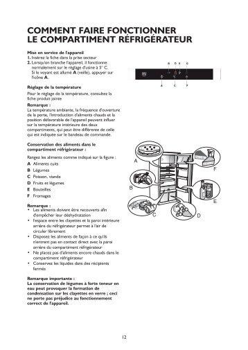 KitchenAid 5100800015 - Refrigerator - 5100800015 - Refrigerator FR (855164816020) Istruzioni per l'Uso