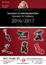 Katalog Souvenir & Geschenkartikel 2016 - 2017