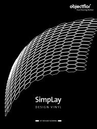 Broschüre SimpLay Design Vinyl