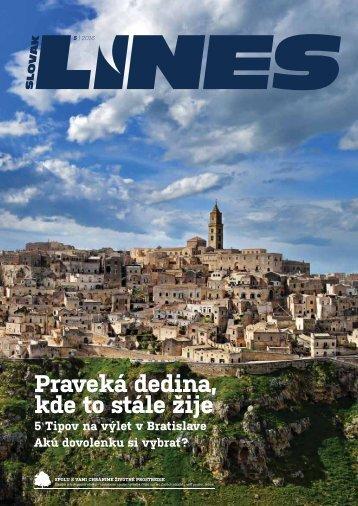 In Drive magazin Slovak Lines 5 2016