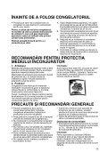 KitchenAid ZS 101 - Freezer - ZS 101 - Freezer RO (850736110000) Istruzioni per l'Uso - Page 2