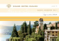 1HZV 6RPPHU - Grand Hotel Fasano