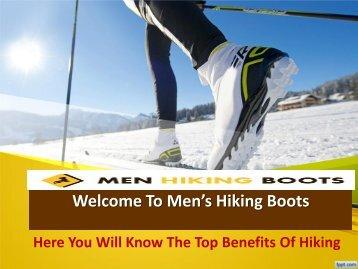 Mens Desert Hiking Boots: Interesting Footwear To Hikers!