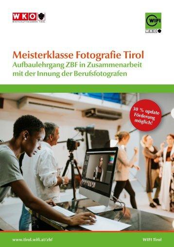 Meisterklasse Fotografie Tirol