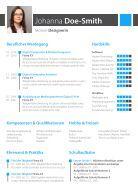 Bewerbungsvorlage Designerin - Seite 3