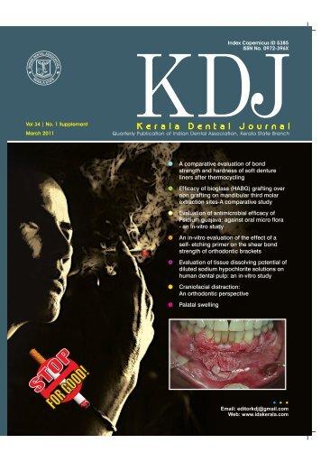 Vol 34 No 2 suppli final.pmd - IDA KERALA STATE ::. idakerala.com