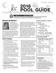 2016 Pool Guide and Summer CenterPost - Page 3