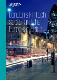 London's FinTech sector and the European Union