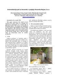 Avtomatizacija peči za keramiko v podjetju Keramika Bojnec d.o.o.