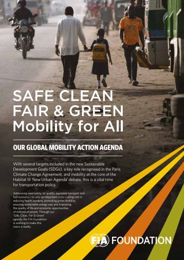 OUR GLOBAL MOBILITY ACTION AGENDA