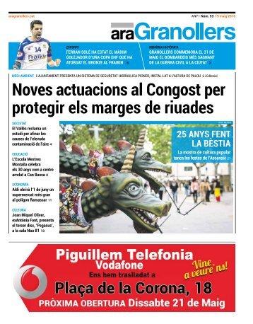 Noves actuacions al Congost per protegir els marges de riuades
