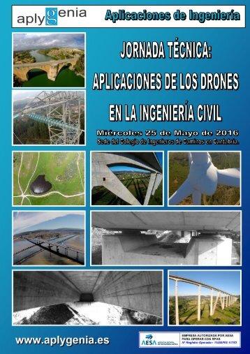 """JORNADA TÉCNICA """"APLICACIONES DE LOS DRONES EN LA INGENIERÍA CIVIL"""""""
