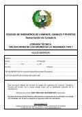"""JORNADA TÉCNICA """"APLICACIONES DE LOS DRONES EN LA INGENIERÍA CIVIL"""" - Page 4"""