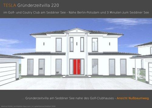 TESLA Gründerzeitvilla 220 - Kurz-Info