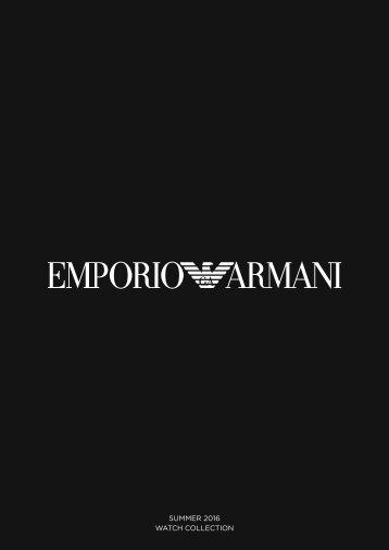 Emporio Armani SUMMER 2016