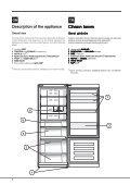KitchenAid E2BGH 19223 F (TK) - Fridge/freezer combination - E2BGH 19223 F (TK) - Fridge/freezer combination TR (F082929) Istruzioni per l'Uso - Page 4