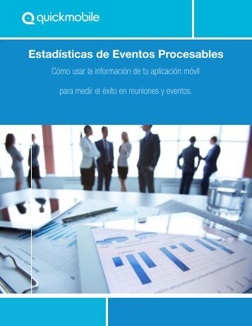 Estadísticas de Eventos Procesables