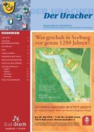 Der Uracher KW 20-2016