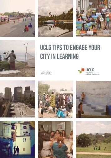uclg tips To engage your city in learning