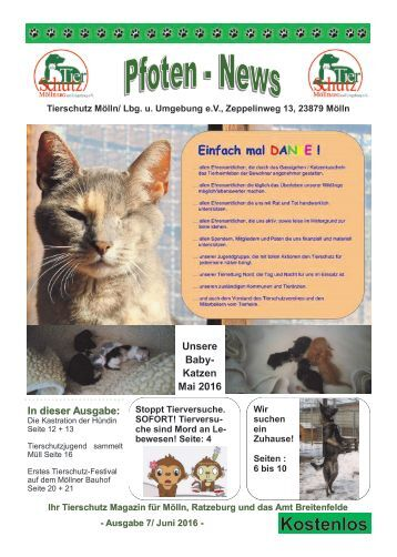 Pfoten-News Ausgabe 7