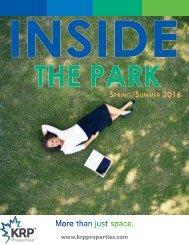 Newsletter Spring/Summer 2016