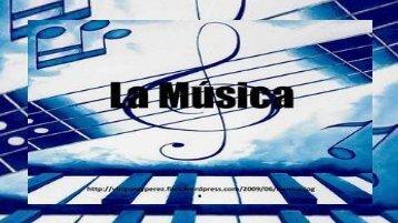 LA MUSICA PAZ...