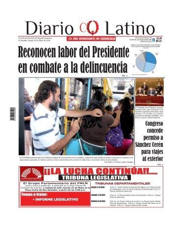Edición 19 de Mayo de 2016