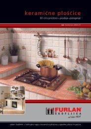 Katalog keramičnih ploščic PDF dokument - Furlan štedilniki