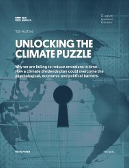 UNLOCKING THE CLIMATE PUZZLE