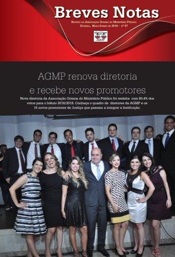AGMP renova diretoria e recebe novos promotores
