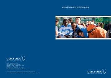 LAUREUS FOUNDATION SWITZERLAND 2008