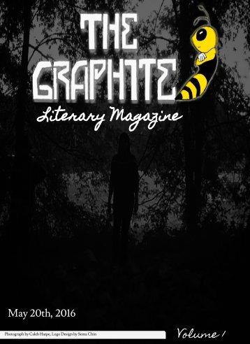 Graphite Spring 2016 Creative Writing Lit Magazine