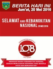e-Kliping Jum'at, 20 Mei 2016