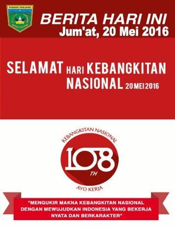e-Kliping Jum'at, 20 Mei 2016