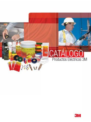 Catalogo 3M Productos Electricos