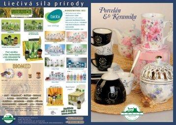 Porcelán & Keramika - SONIX sro
