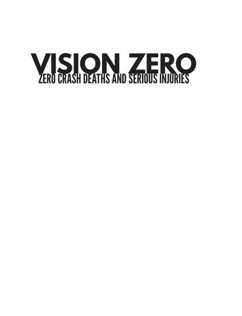 VISION ZERO on