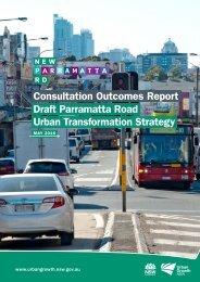 Draft Parramatta Road Urban Transformation Strategy