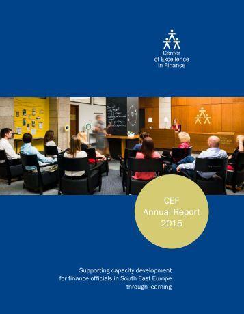 CEF Annual Report 2015