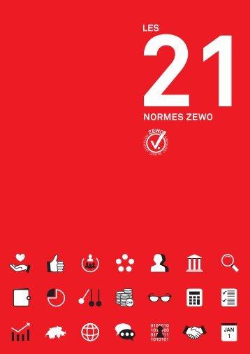Les 21 normes Zewo