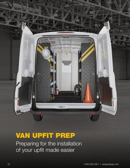 Van Upfit Prep Buyer's Guide (2020)