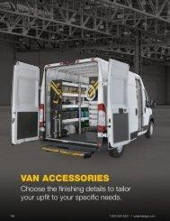 Van Accessories Buyers' Guide (2021)